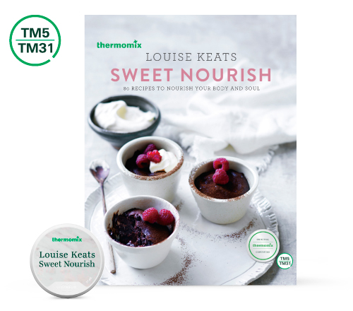 Sweet Nourish Cook Book Louise Keats Recipe Chip